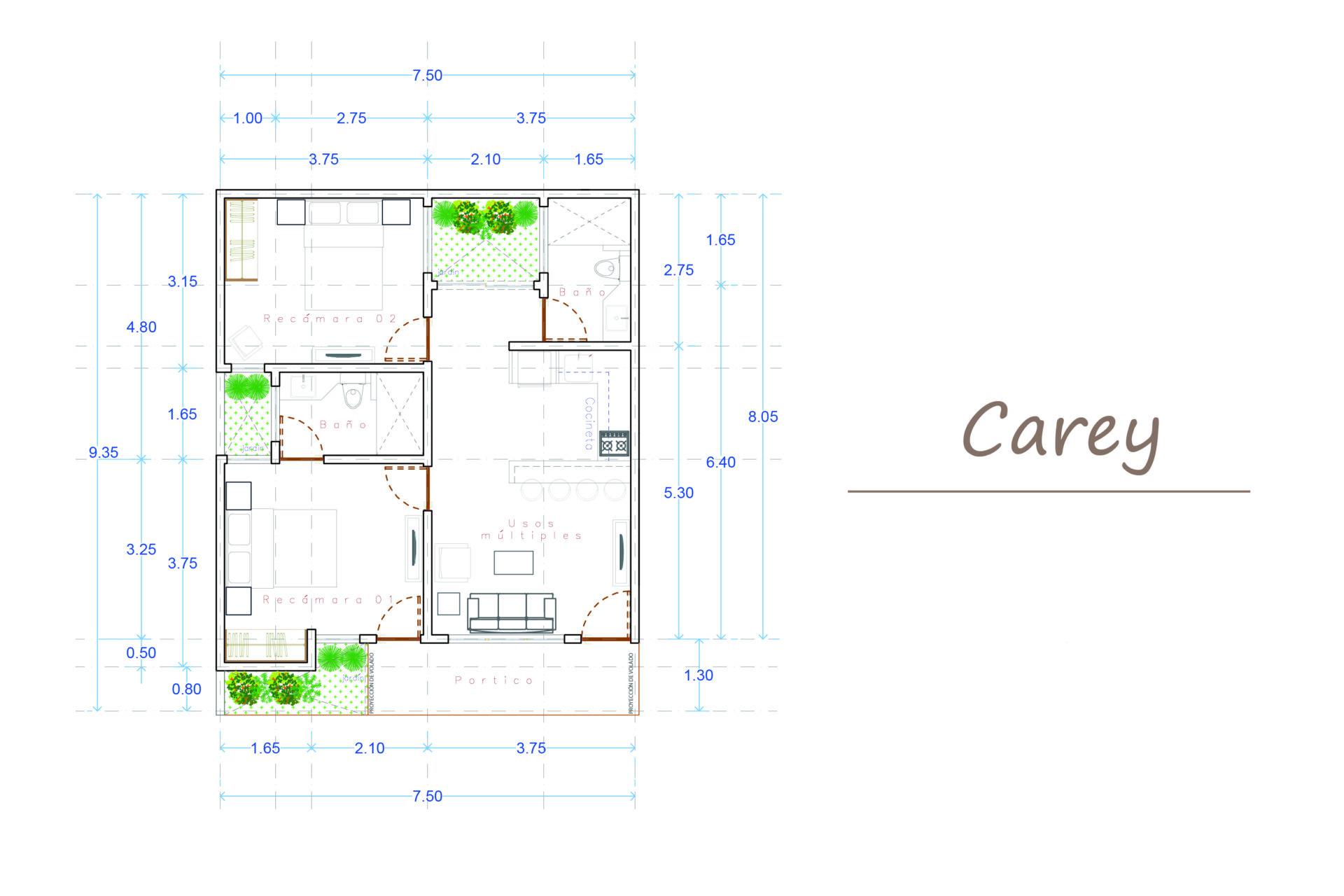 CAREY 1st FLOOR